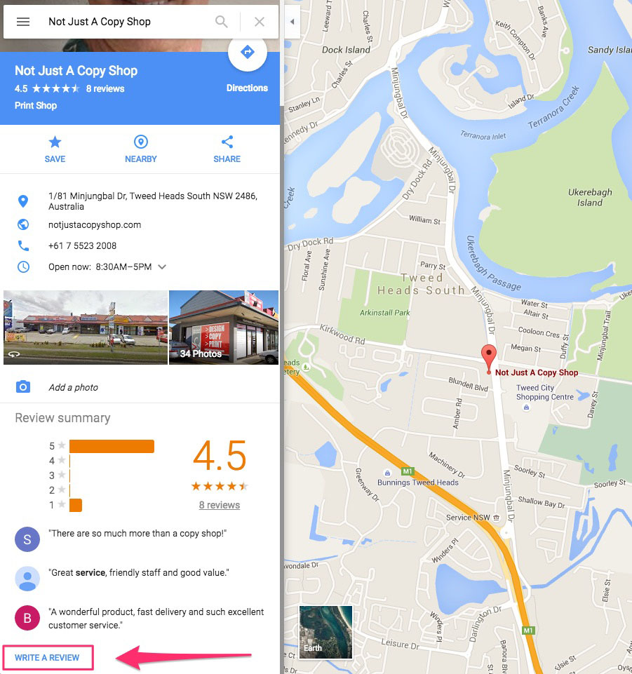 Not Just A Copy Shop | Google Maps | Printing Shop Gold Coast